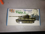 Dragon Armor 1/72 Scale WWII Tiger I Late Production Alfred Kurzmaul Tank 60320 60320